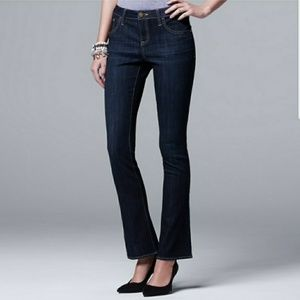 Simply Vera Bootcut Jeans